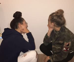 best friends, girl, and goals image