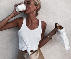 chic, croissant, and inspo image