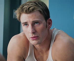 captain america, chris evans, and gif image