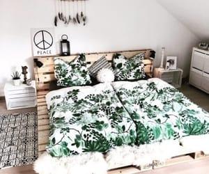 bedroom, home design, and modern image