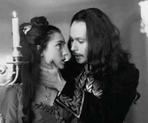 blak and white, Dracula, and film image