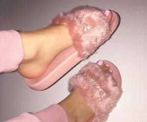 fashion, pink, and puma image
