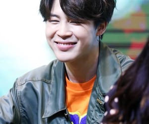 smile, bts, and fansign image