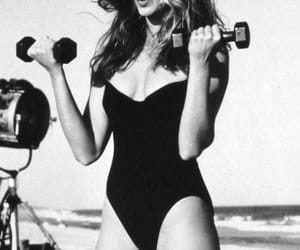 model, cindy crawford, and 90s image