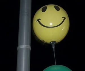 grunge, night, and ballon image