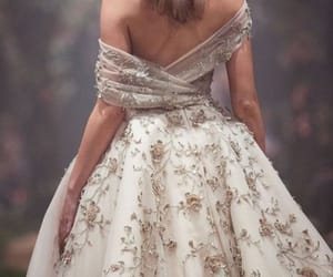 chic, dress, and look image