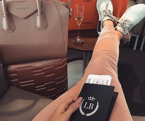 travel, luxury, and passport image