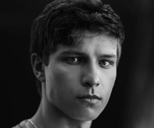 actor, black and white, and boys image