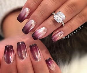 color, nails, and ring image