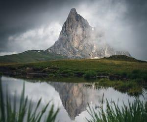 lake, reflection, and summer image