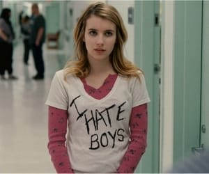 emma roberts, boy, and hate image