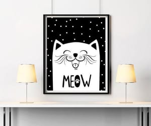 baby room, cat, and etsy image