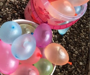 summer, water ballons, and water bombs image
