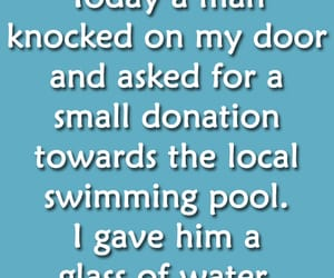 quotes, swimming pool, and funny quotes image