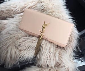 aesthetic, fur, and purse image