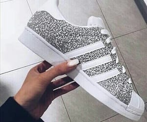 adidas, shimmer, and glitter image