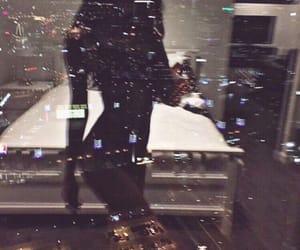 body, night, and city image