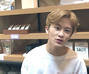 aesthetic, kpop, and mark lee image