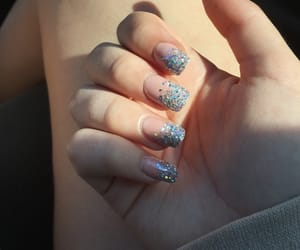 beige, nails, and nailspiration image
