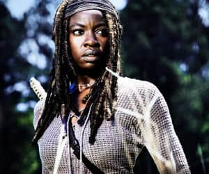 black woman, woman, and the walking dead image