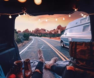travel, adventure, and Road Trip image