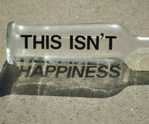 bottle, grunge, and quotes image