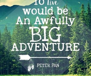 peter pan, quotes, and nature image