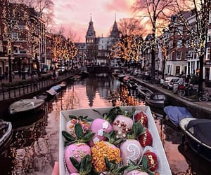 food, amsterdam, and city image