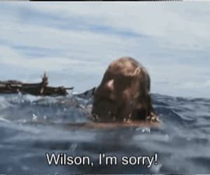 Cast Away, gif, and tom hanks image