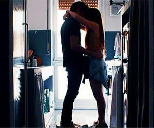 couple, gif, and love image