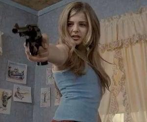 gun, hick, and chloe grace moretz image
