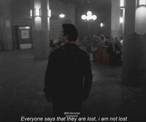 broken, lost, and sad quote image