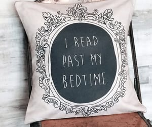 bedding, books, and burlap image