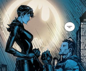 batman, catwoman, and dc comics image