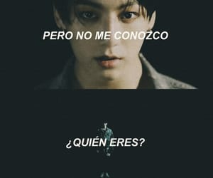 frases, letras, and fake love image