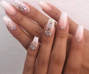 diamond, inspiration, and nails image