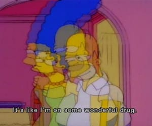 simpson, simpsons, and love image