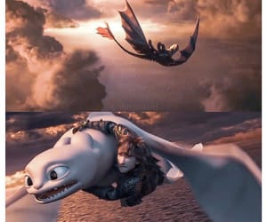 animation, httyd 3, and dreamworks image