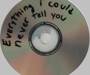 love, cd, and music image