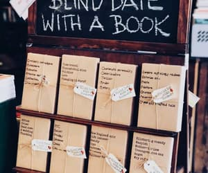 blind date, books, and love it image