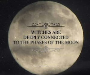 aesthetic, moon, and Witches image