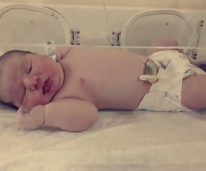 angel, baby, and newborn image