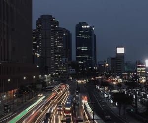 cars, city, and dark image