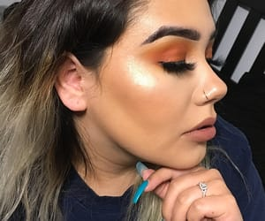 glowing, nails, and dewy image