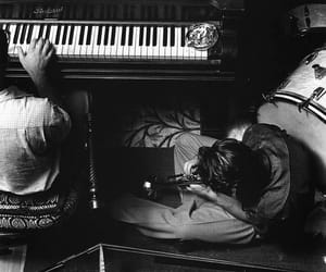 piano, chet baker, and music image