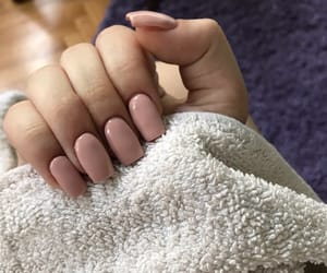 beauty, beige, and nail image