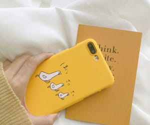 case, yellow, and apple image