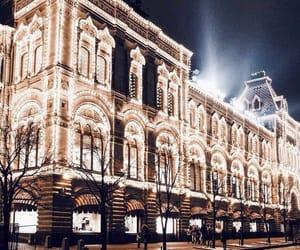 lights, christmas, and building image