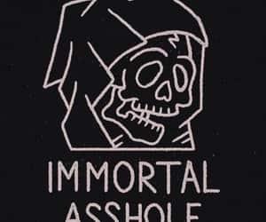 grunge, black, and asshole image