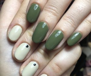 army, long, and manicure image